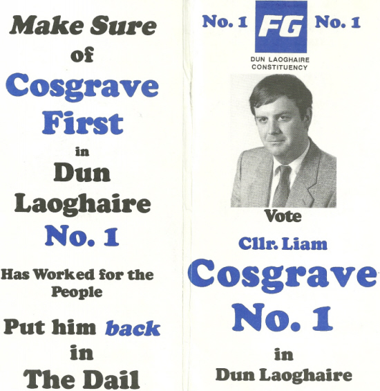 Liam Cosgrave Junior