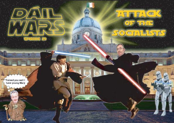 Mary Harney Luke Skywalker - Dail Wars