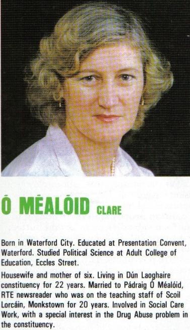 Clare O'Mealoid