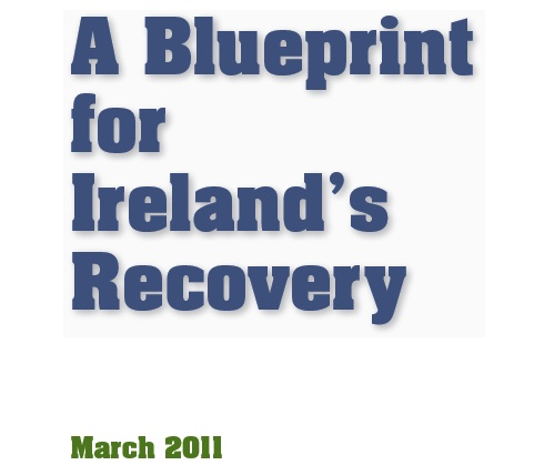 A blueprint for national recovery irish election literature the malvernweather