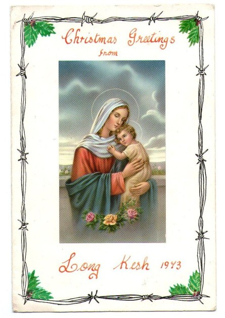 A Long Kesh Christmas card from 1973.