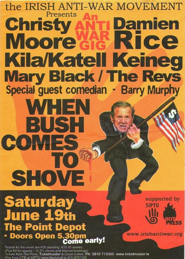 When Bush  Comes To Shove Sat 19th June 2004
