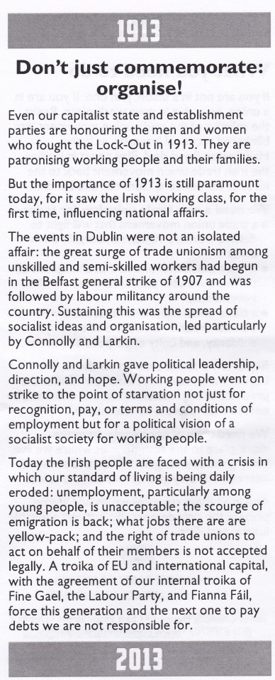CPI Lockout Leaflet