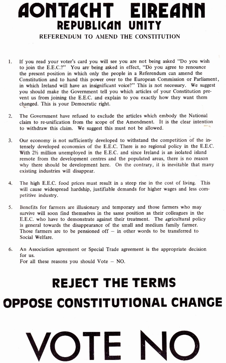 Aont Eir Reject the Terms