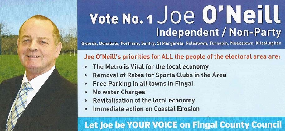 Joe O'Neill - Front