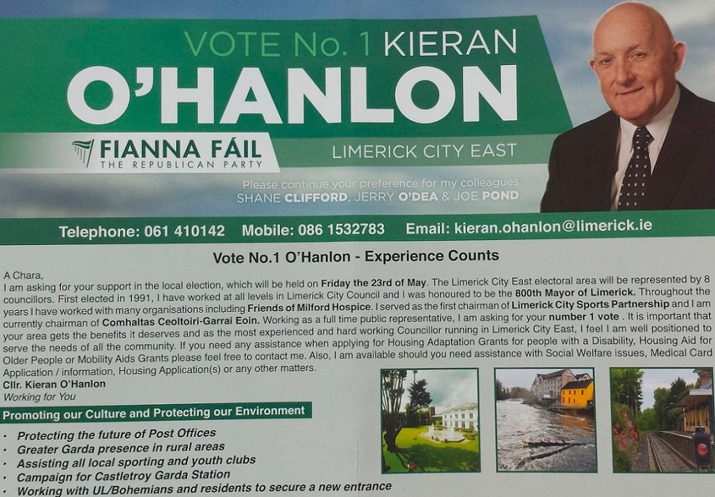 Kieran O Hanlon Front