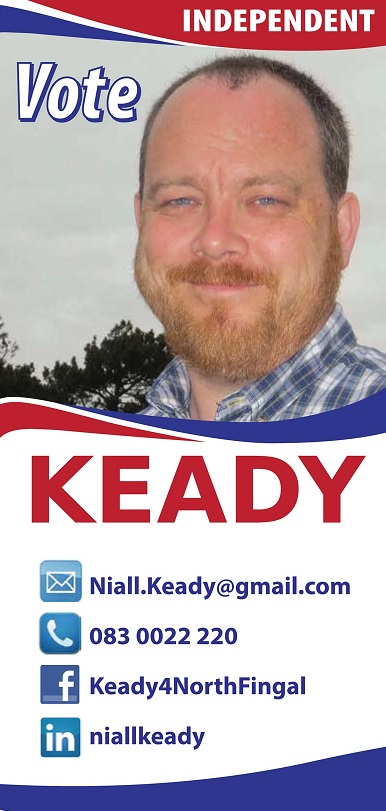 Niall Keady press release