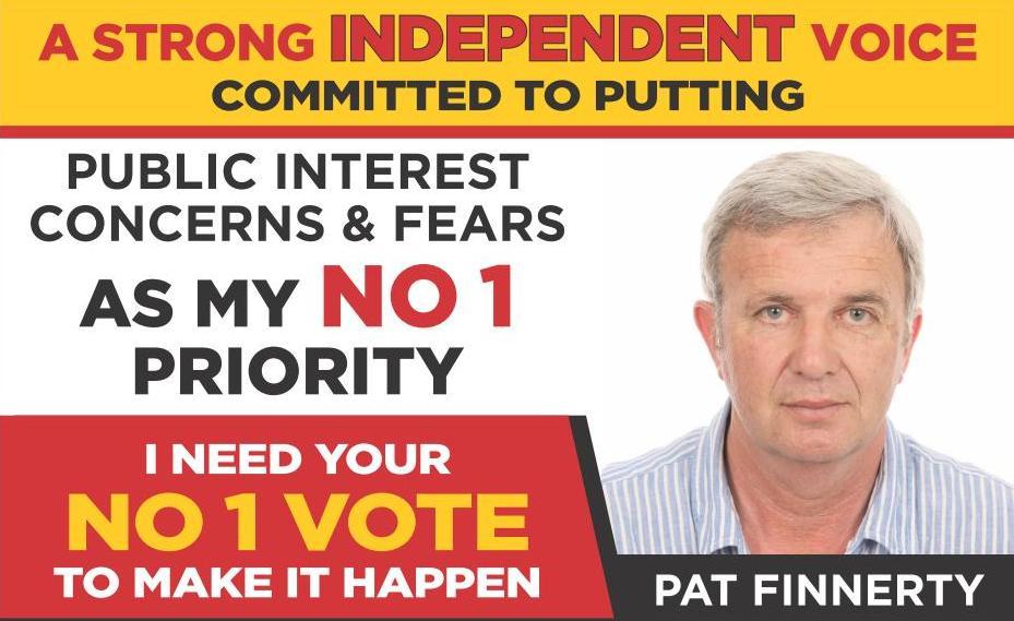 Pat Finnerty Flyer
