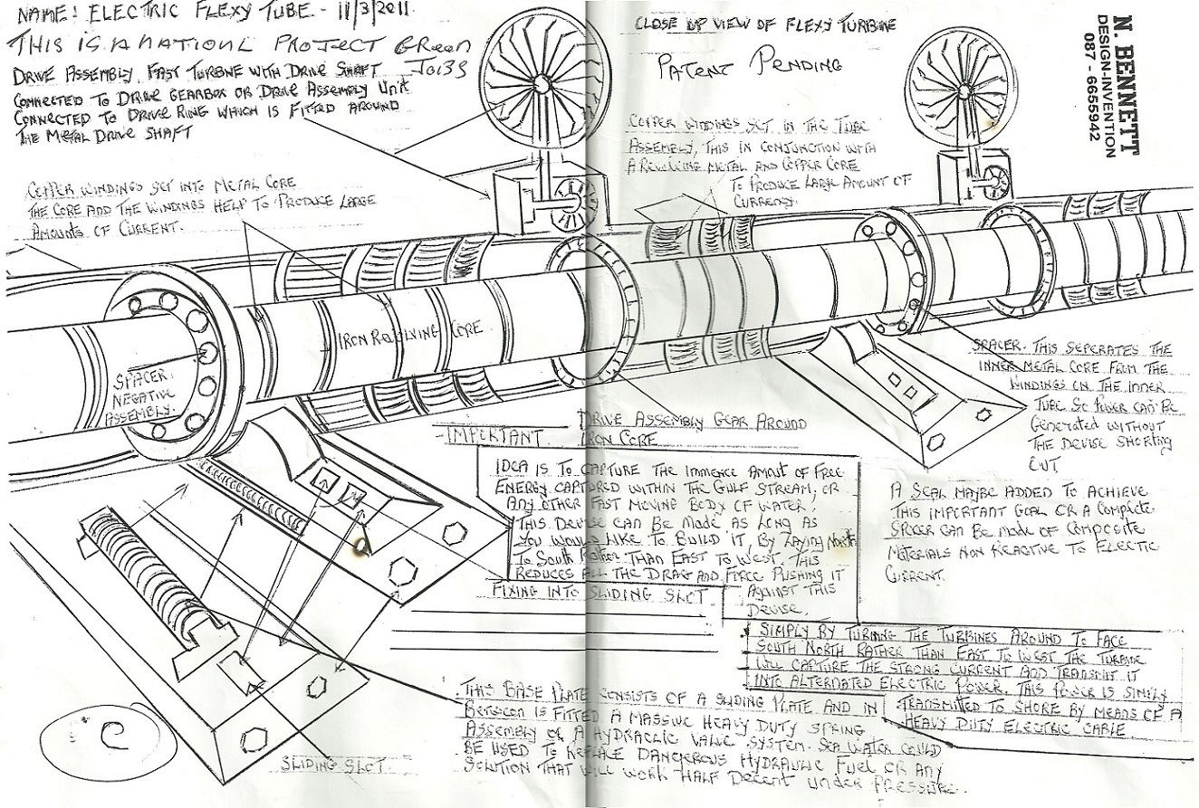 Drawings of Invention Designs from Noel Bennett – Independent ...