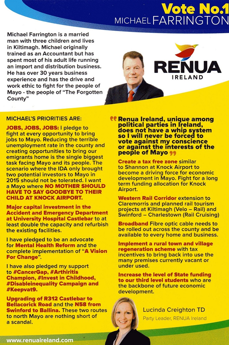 Michael Farrington-Renua-Mayo_back