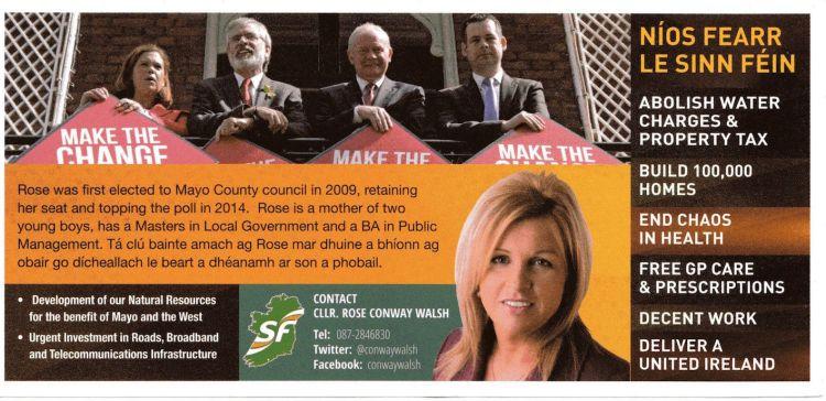 Rose Walsh-Sinn Fein-Mayo_back