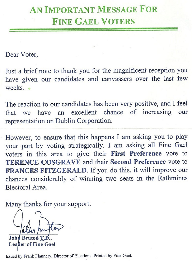 election thank you note