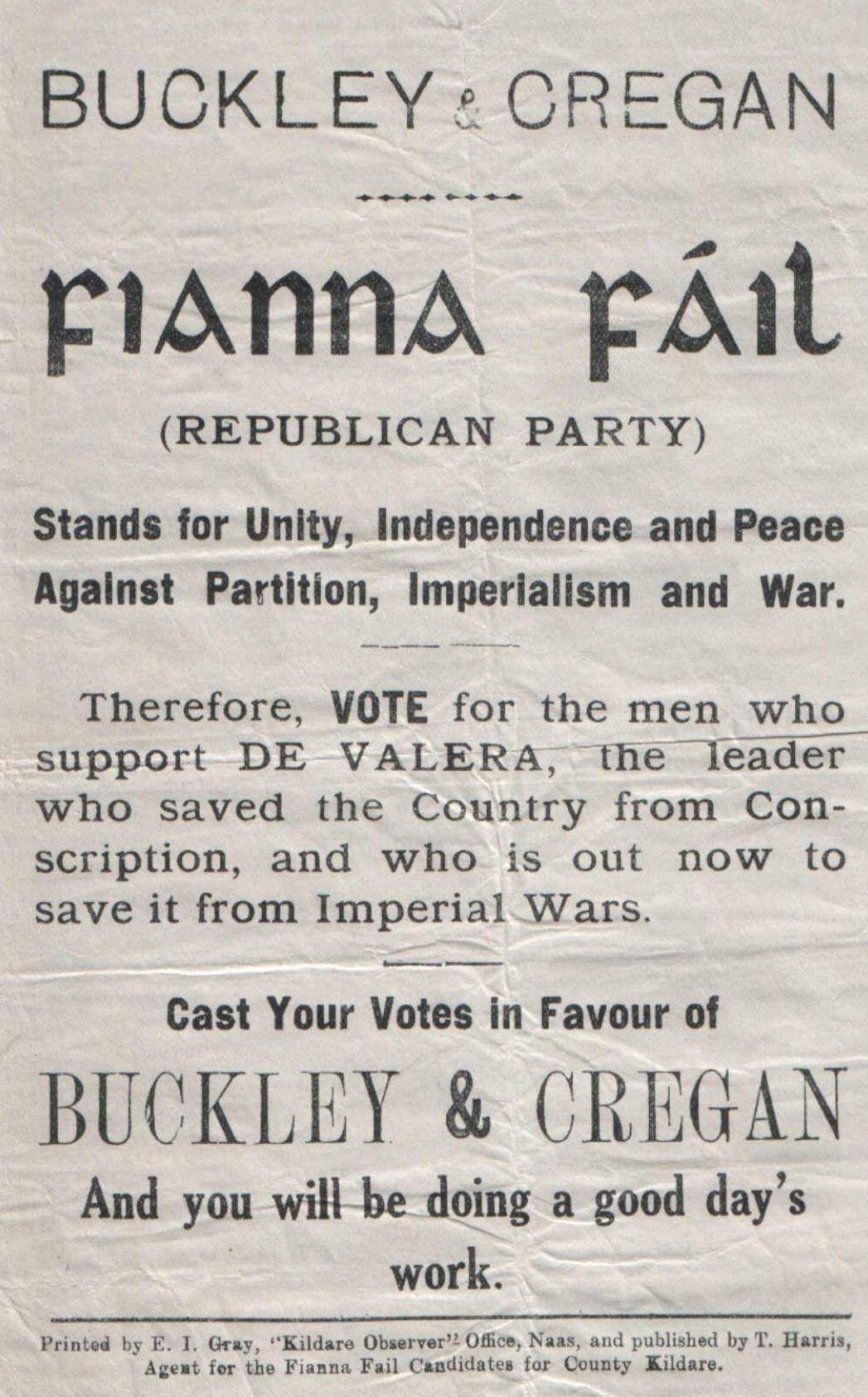 June 1927 Irish general election